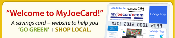 Welcome to MyJoeCard!