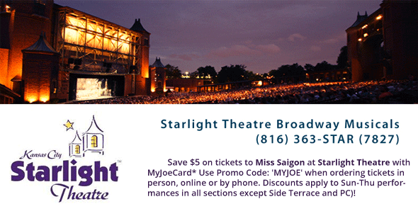 Miss Saigon at Starlight Theatre