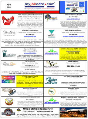 April 2014 list of savings available here.